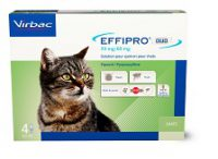 Effipro Duo spot-on pour Chat