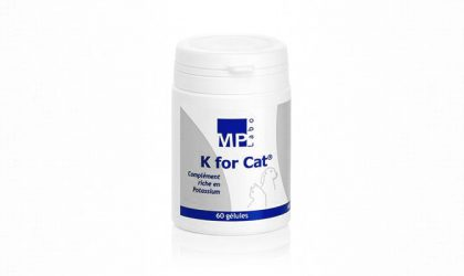 MP Labo - K for Cat - Complément riche en potassium - 60 gélules