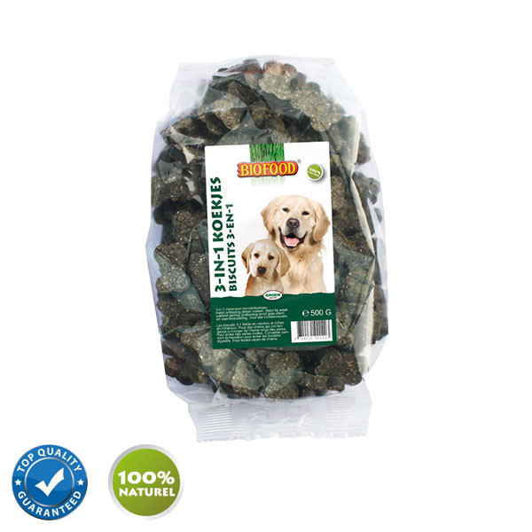 Biofood Biscuits aux Algues Marines Chien - 500 gr
