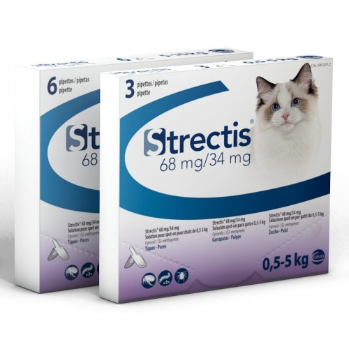 Strectis Chat (<5 kg) - 6 pipettes