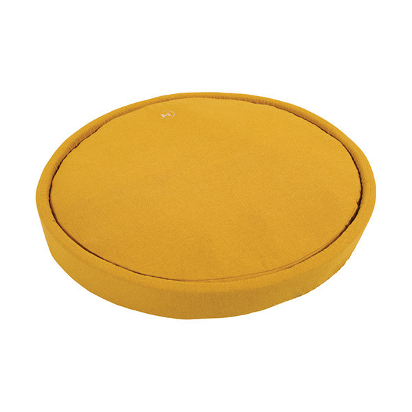Coussin Rond Milano Moutarde