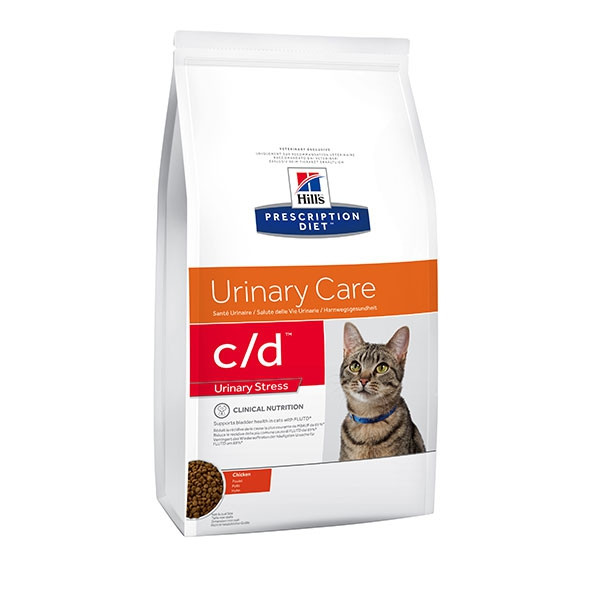 Hill's Prescription Diet Feline c/d Urinary Stress - 1 x 8 kg