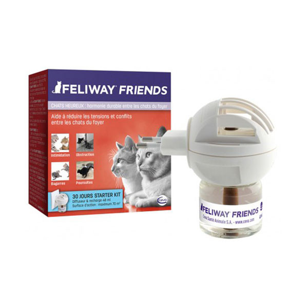 Feliway Friends Diffuseur + Recharge - 48 ml