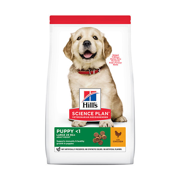 Hill's Science Plan Canine Puppy Large Breed Poulet - 16 kg