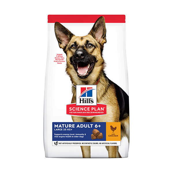Hill's Science Plan Canine Mature Adult 6+ Large Breed Poulet - 18 Kg