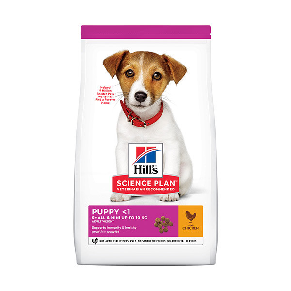Hill's Science Plan Canine Puppy Small & Mini Poulet - 3 kg