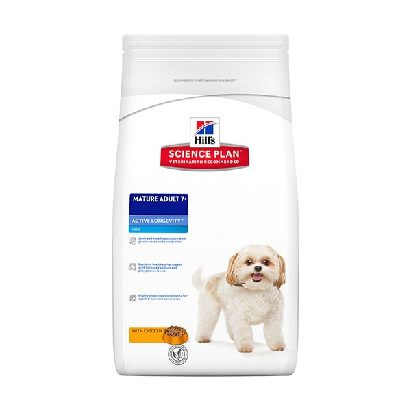 Hill's Science Plan Canine Mature Adult 7+ Small & Mini Poulet - 6 kg