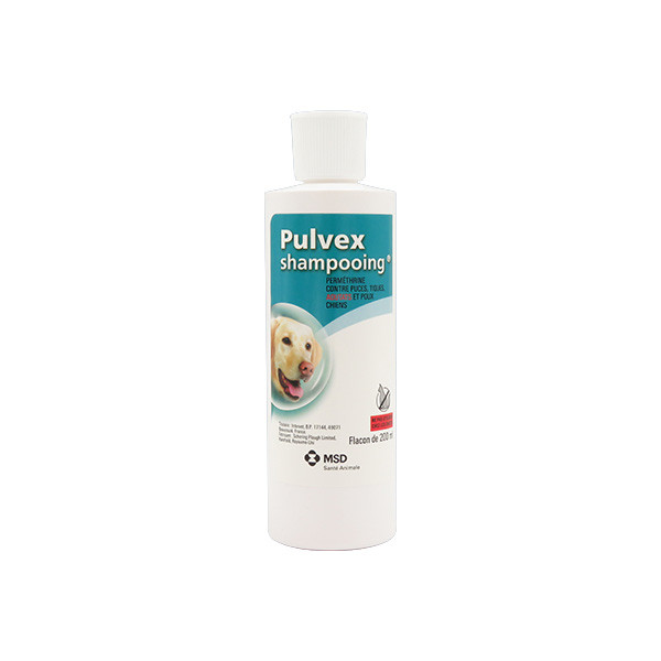 Pulvex Shampooing Insecticide pour Chien - 200 ml