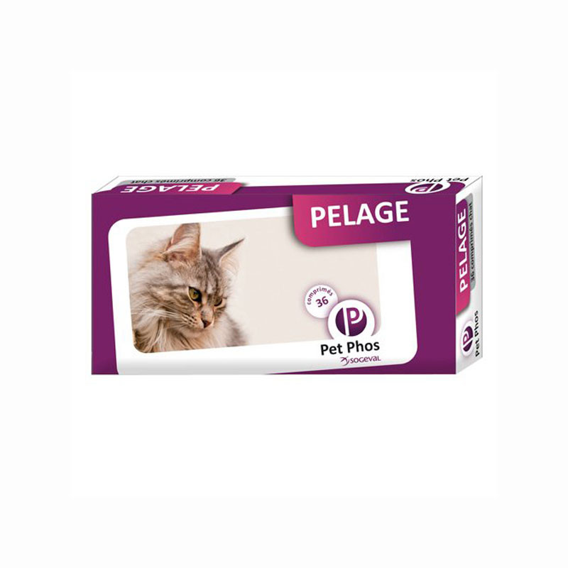 Pet Phos Pelage Felin - 36 cps