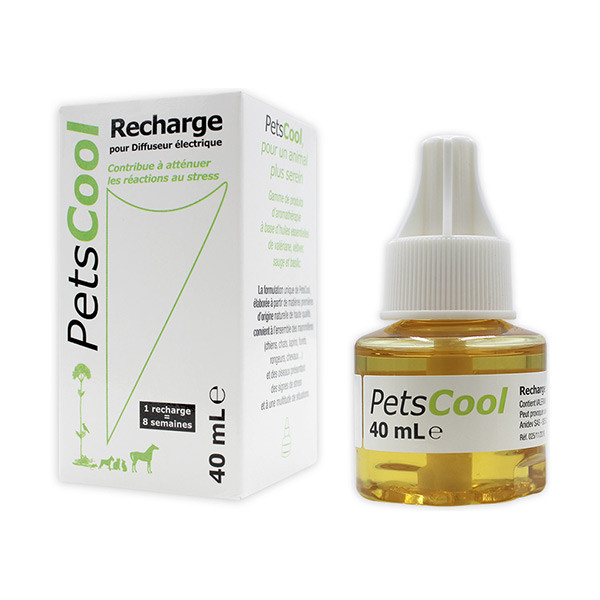 Petscool Recharge pour Diffuseur - 40 ml