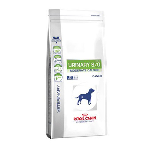 Royal Canin Vdiet Dog Urinary S/O Moderate Calorie - 1,5 Kg