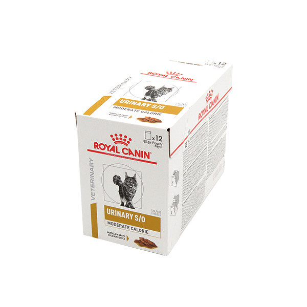 Royal Canin Vdiet Cat Urinary S/O Moderate Calorie - 12 x 85 gr