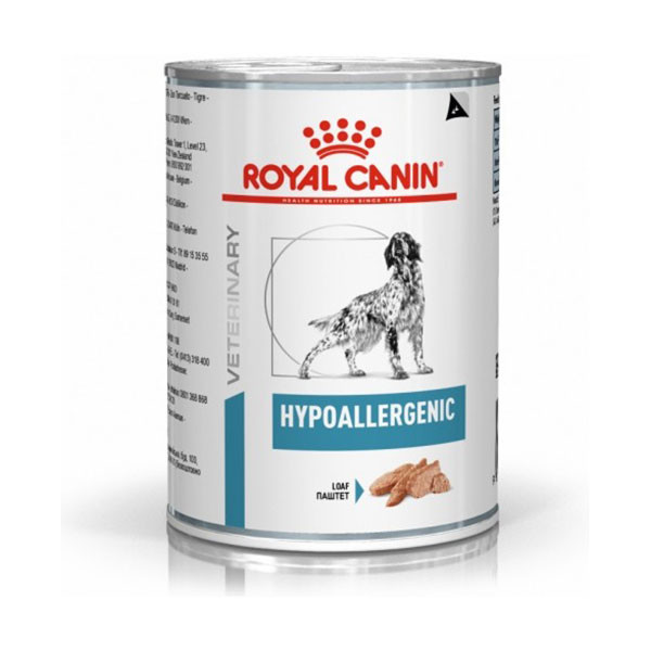 Royal Canin Vdiet Dog Hypoallergenic - 12 x 400 gr