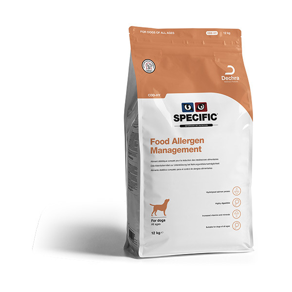 SPECIFIC CDD-HY Food Allergy Management - 12 Kg