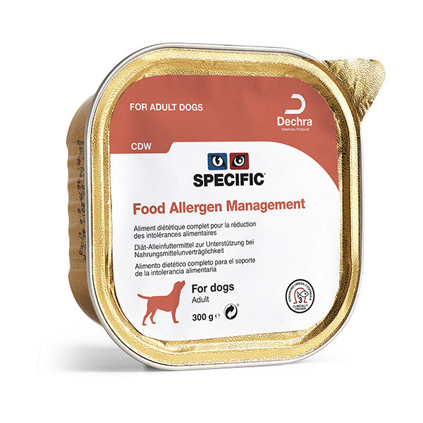 SPECIFIC CDW Food Allergy Management - 6 x 300 gr