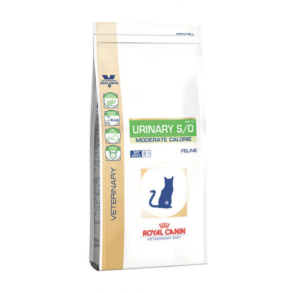 Royal Canin Vdiet Cat Urinary S/O Moderate Calorie - 7 Kg
