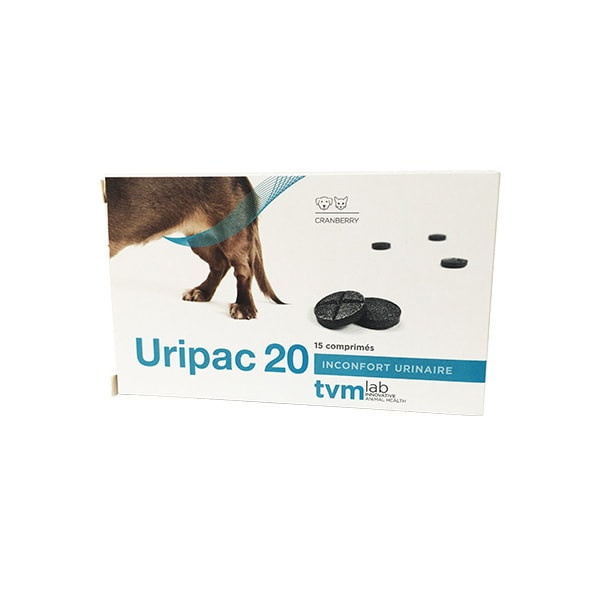 Uripac 20 mg - Chien et Chat - 15 cps