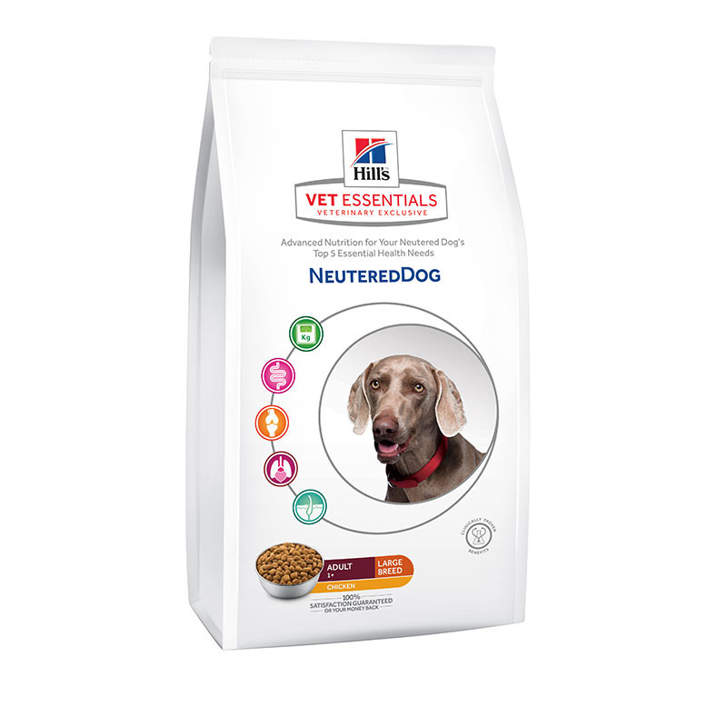 Hill's VetEssentials Canine Neutered Adult Large - 12 Kg