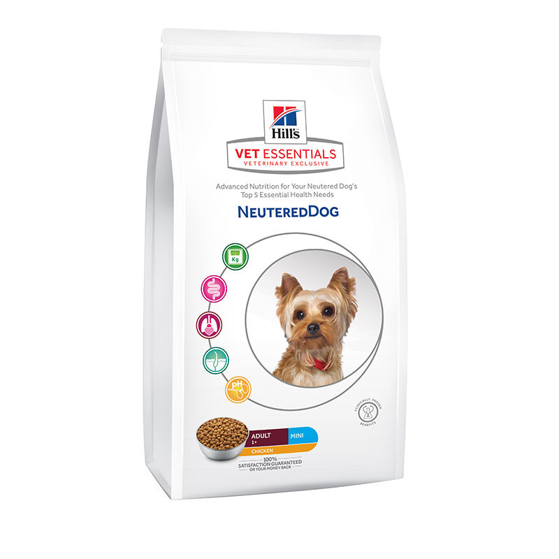 Hill's VetEssentials Canine Neutered Adult Mini