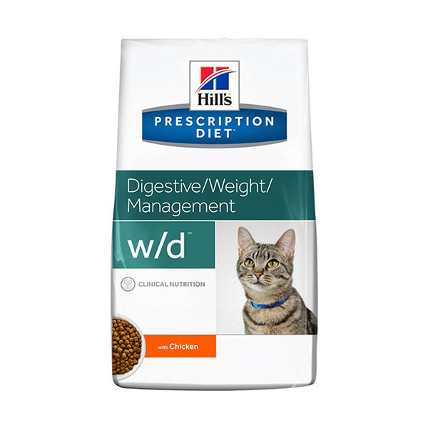 Hill's Prescription Diet Feline w/d pour Chat