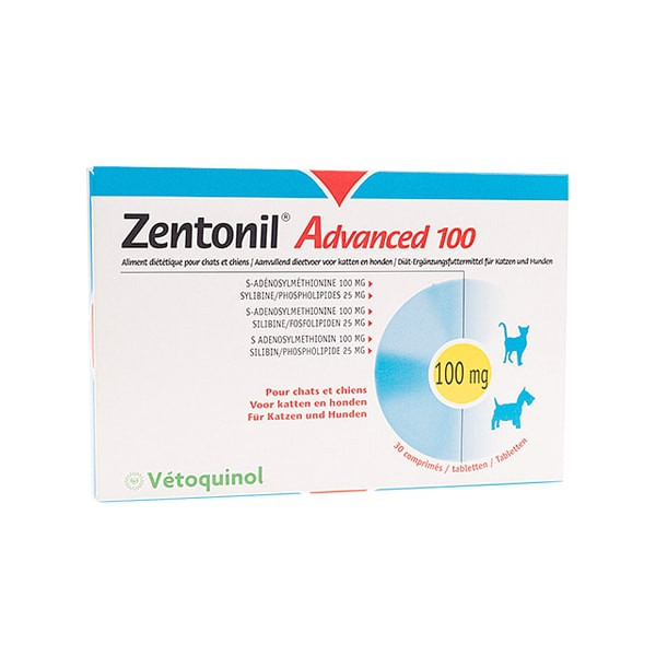 Zentonil Advanced 100 mg pour Chat - 30 Cps
