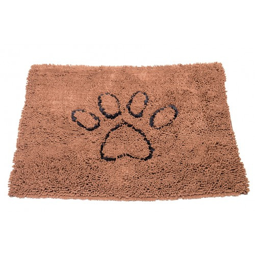 Tapis Dirty Dog Marron - 79 x 51 cm