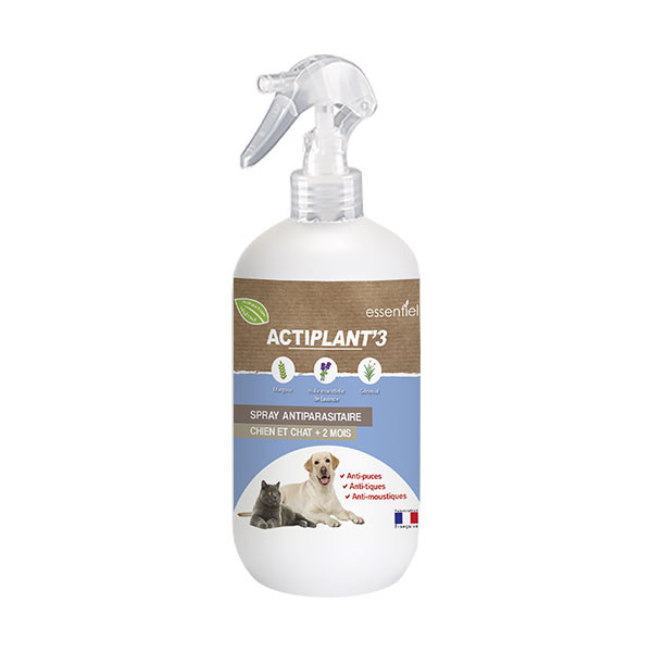 ActiPlant'3 Spray Insectifuge Antiparasitaire - 250 ml