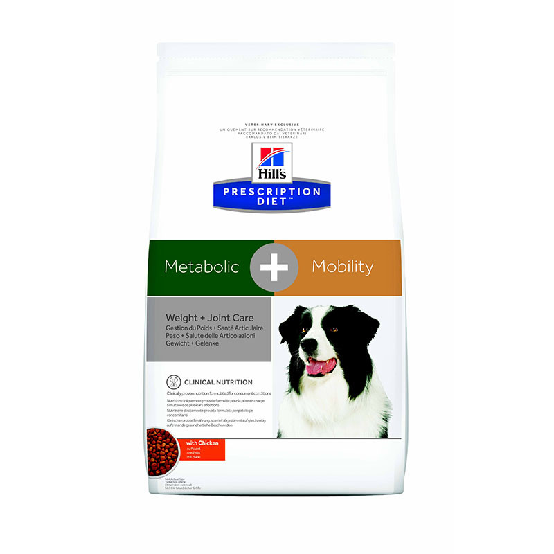 Hill's Prescription Diet Canine Metabolic + Mobility - 1 x 4 kg
