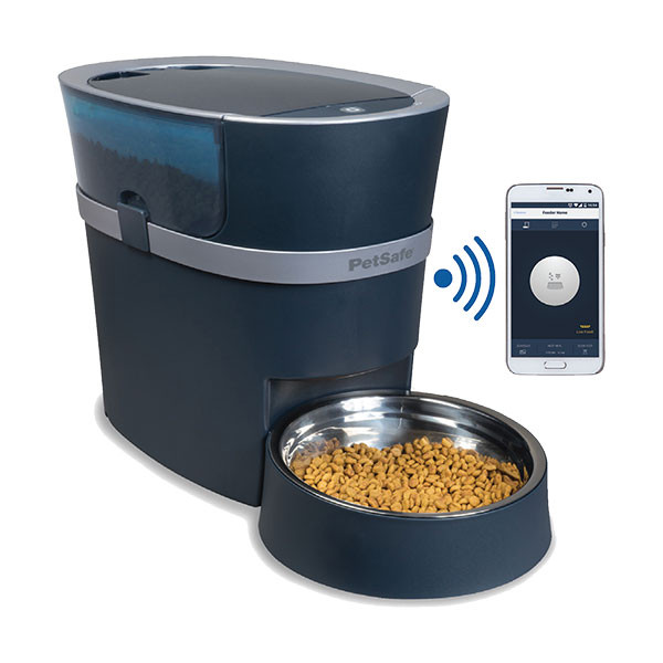 "PetSafe - Distributeur de Croquettes Connecté ""Smart Feed"""