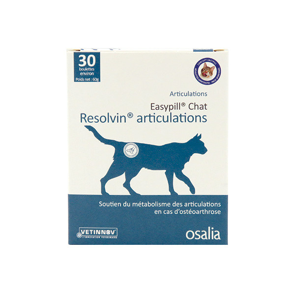 Easypill Resolvin Articulations pour Chat