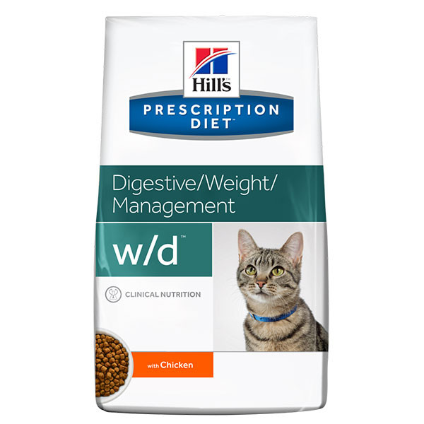 Hill's Prescription Diet Feline w/d - 1 x 5 kg
