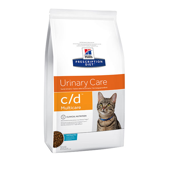 Hill's Prescription Diet Feline c/d Multicare Poisson - 5 kg