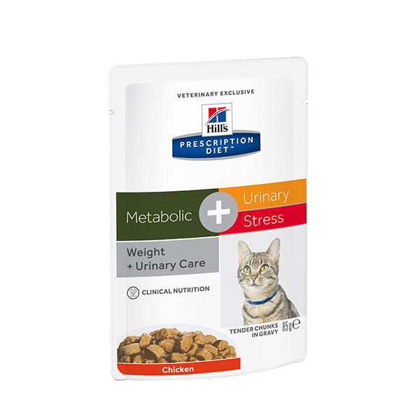 Hill's Prescription Diet Feline Metabolic + Urinary - 12 x 85 gr