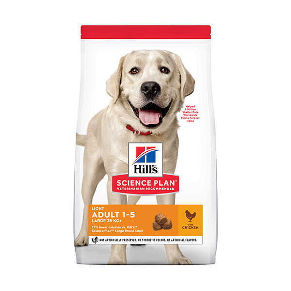 Hill's Science Plan Canine Adult Light Large Breed - 14 kg