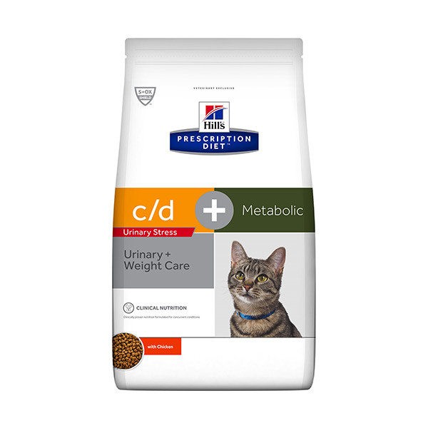 Hill's Prescription Diet Feline c/d Urinary Stress + Metabolic - 1 x 4 kg