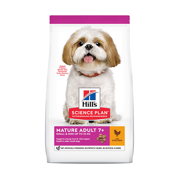 Hill's Canine Mature Adult 7+ Small & Mini Poulet