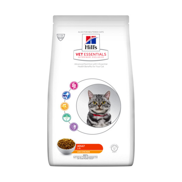 Hill's VetEssentials Feline Adult Poulet - 14 Kg