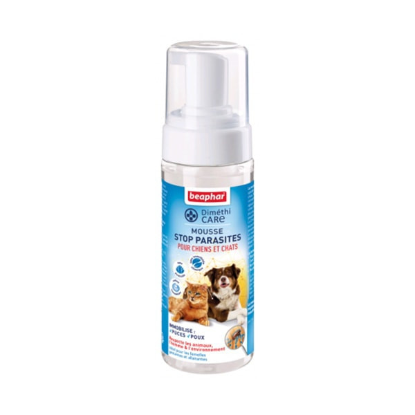 "Beaphar ""Diméthi Care"" Mousse Stop Parasites - 150 ml"