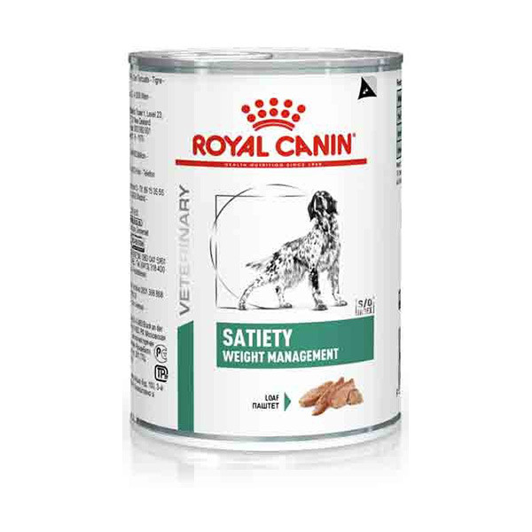 Royal Canin Vdiet Dog Satiety Support - 12 x 410 gr