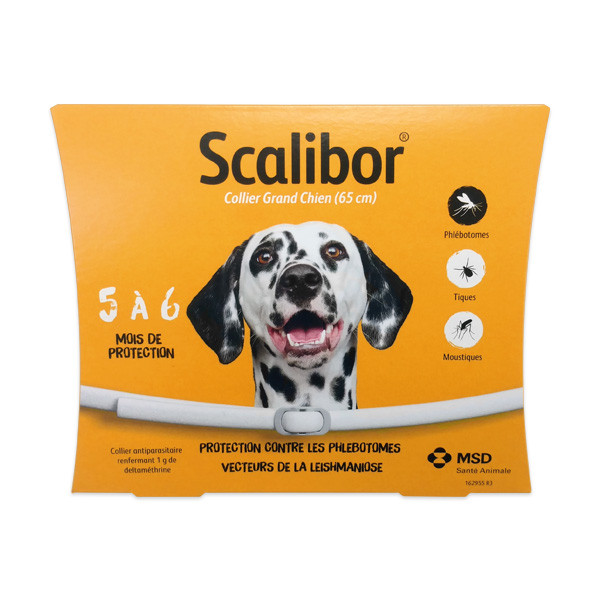 Scalibor Collier Grand Chien - 65 cm - nouveau packaging