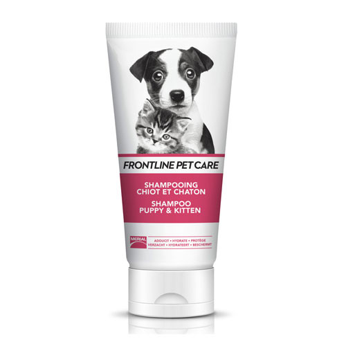Frontline Petcare Shampooing Chiot et Chaton - 200 ml