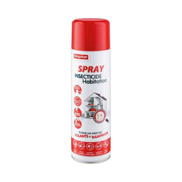 Beaphar Spray Insecticide Habitation - 500 ml