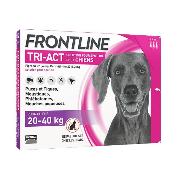 Frontline Tri-Act L Grand Chien (20-40 kg)