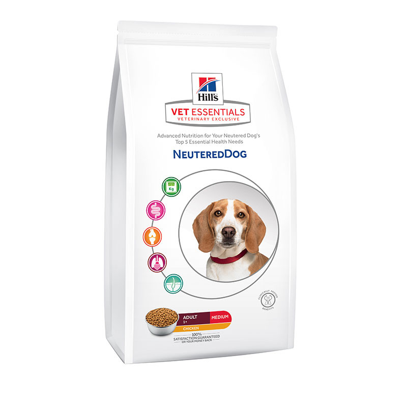Hill's VetEssentials Canine Neutered Adult - 10 Kg