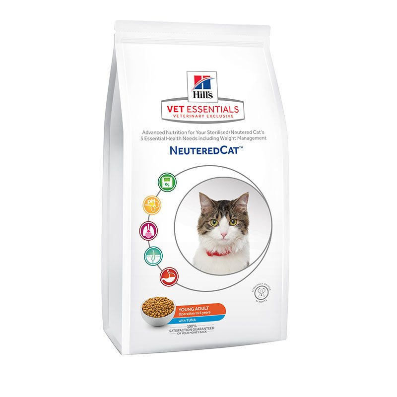 Hill's VetEssentials Feline Neutered Young Adult Thon - 2,5 Kg