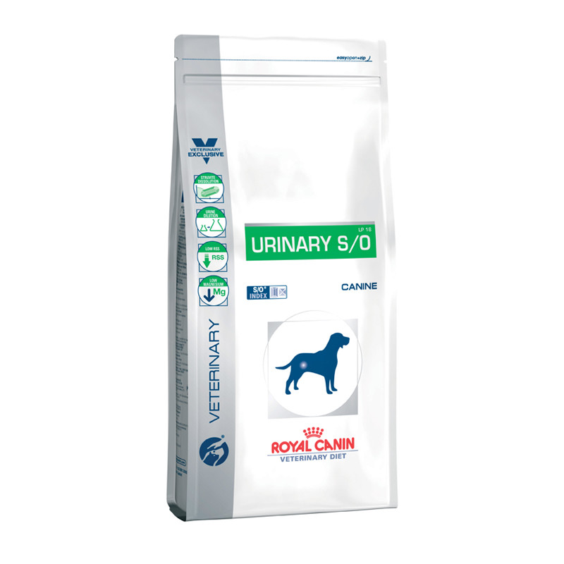 Royal Canin Vdiet Dog Urinary S/O - 7,5 Kg