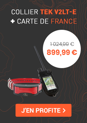 Pack Tek V2LT-E + la carte de france à un prix imbattable